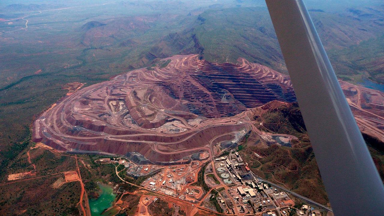Australský důl Argyle je vprovozu odroku 1983. Právě zněj pochází 90 procent všech růžových diamantů.
