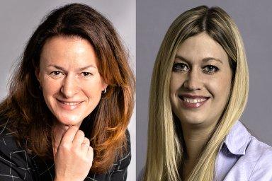 Jana Vlková a Silvie Marešová, management společnosti Colliers International