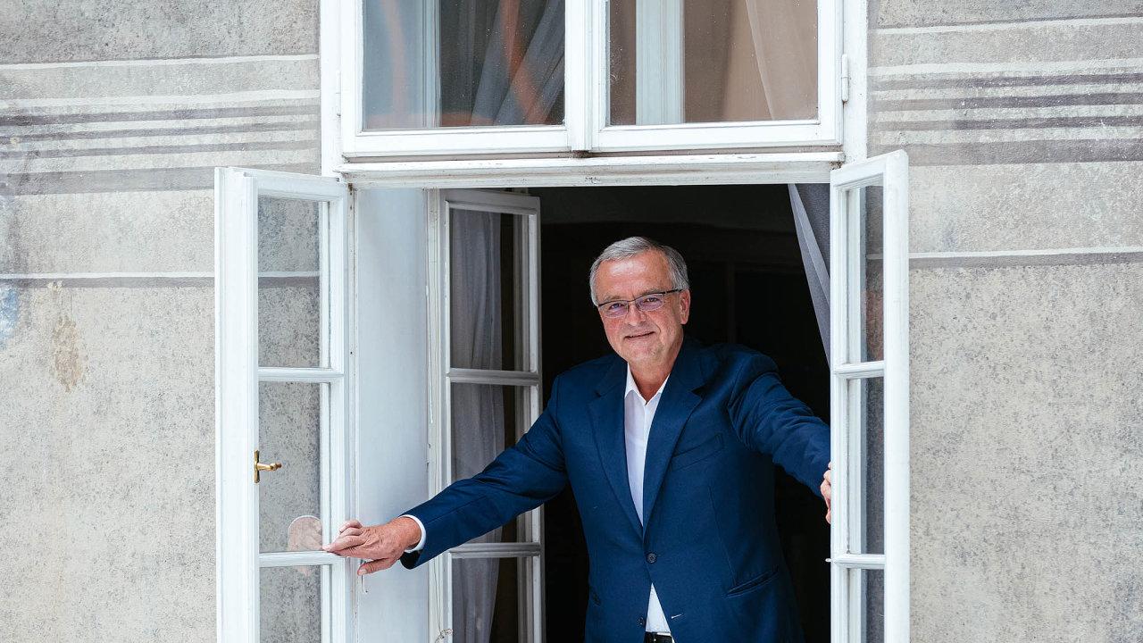 Zakladatel TOP 09 Miroslav Kalousek