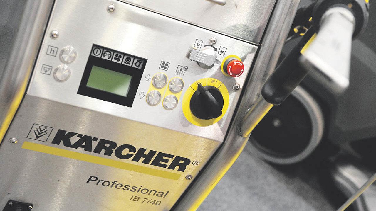 Přístroj naotryskávání suchým ledem Kärcher Ice Blaster IB 7/40 Advanced.