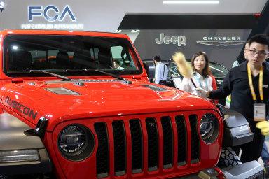 FCA vystavuje vČíně svůj Jeep Gladiator.