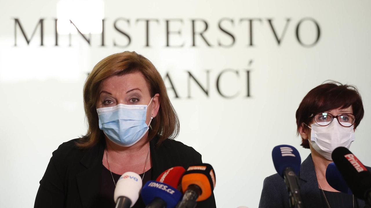 Ministryně financí Alena Schillerová (zaANO).