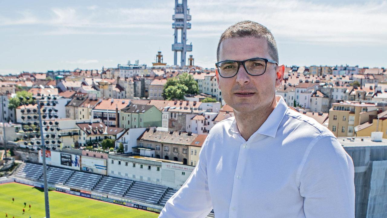 Žižkovský podnikatel Martin Louda se rozhodl oživit čtvrť, vekteré vyrůstal.