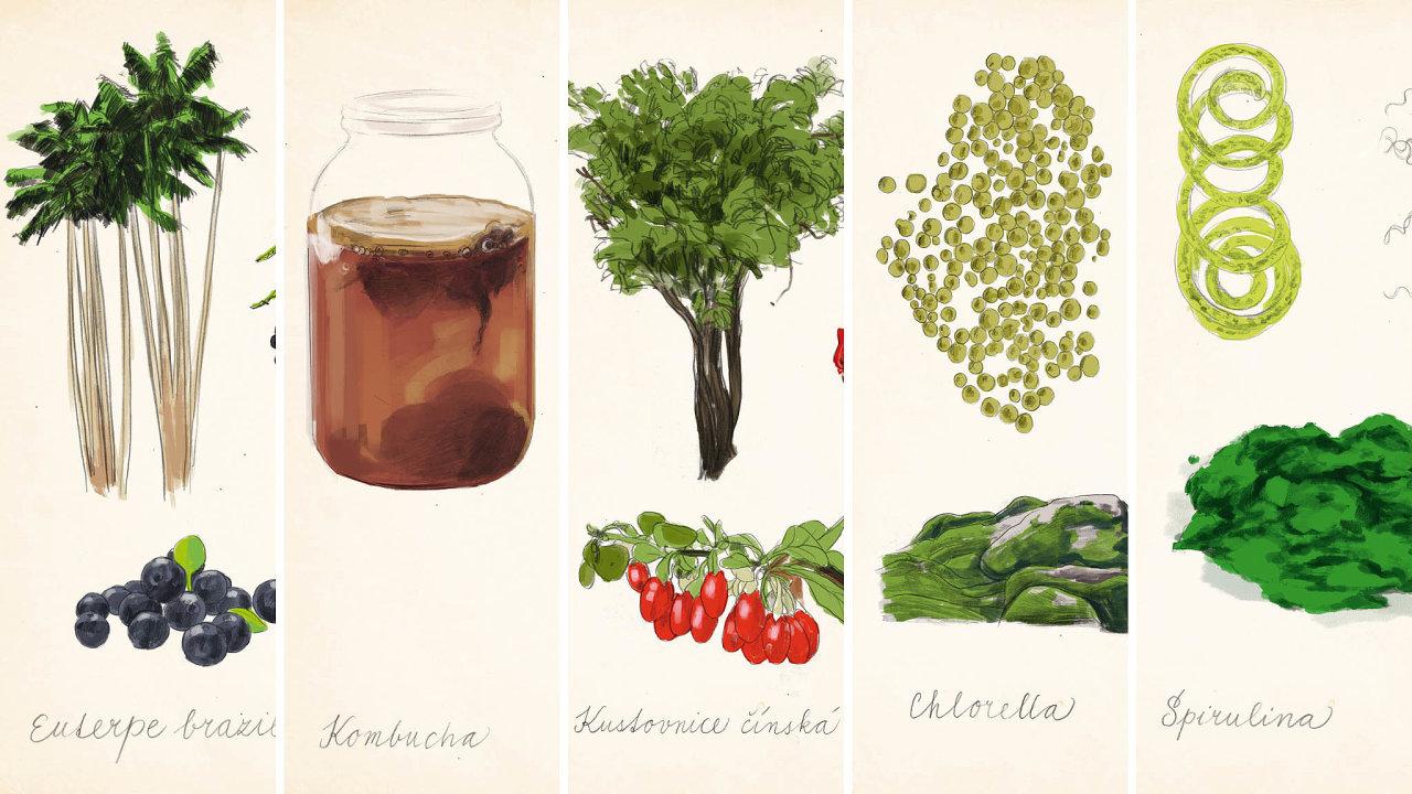 Popožití superpotravin se zvás stanou superlidé.