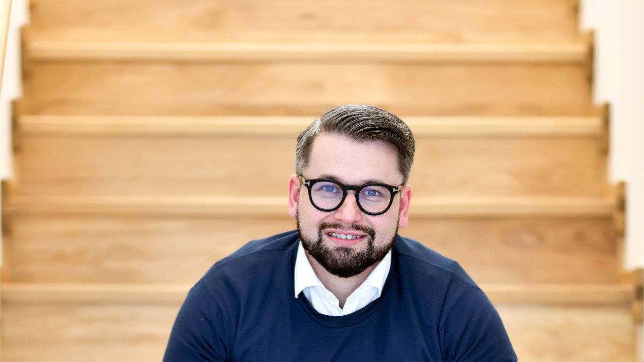 JakubKomenda,manažer digitálních kanálů skupiny Moneta