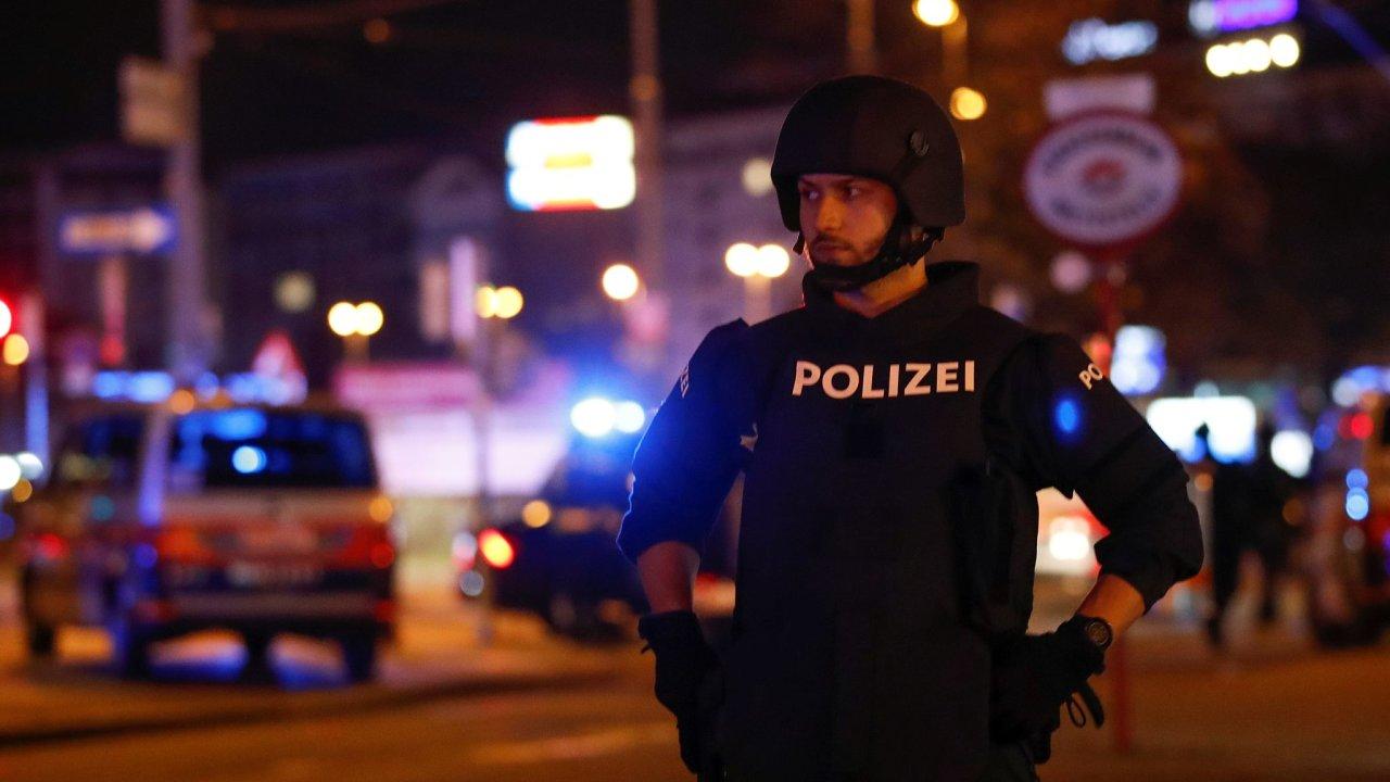 Vídeň útok na synagogu