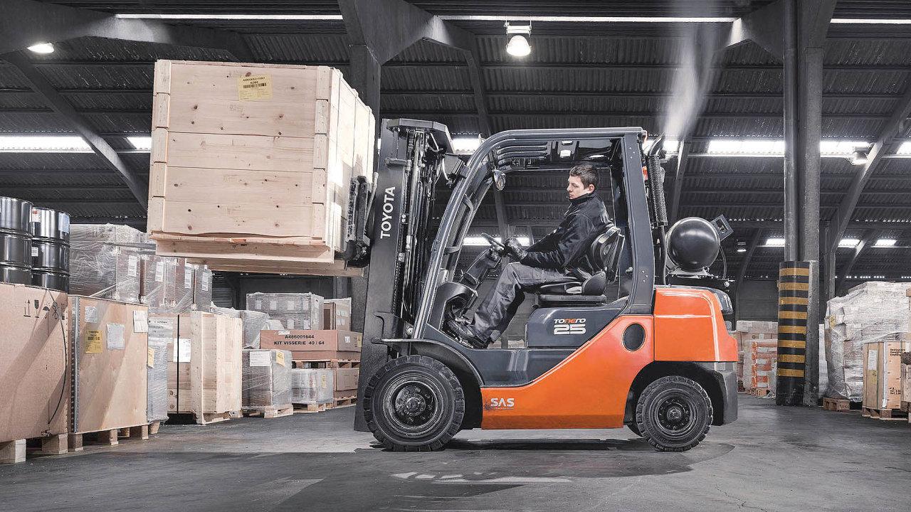 Nová řada Toyota Tonero snosnostmi 1,5 až 8 tun.