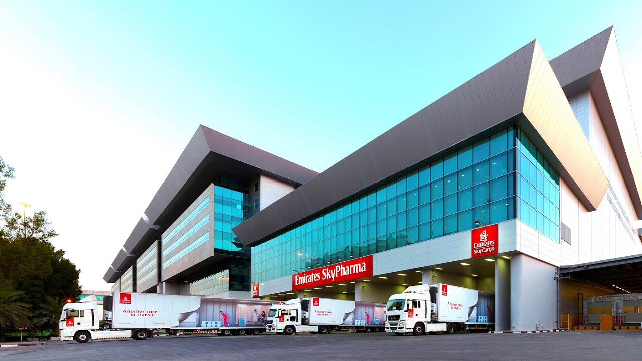 Farmacentrum Emirates SkyCargo v Dubaji.