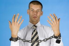 Krádež v kravatě - ilustrační foto