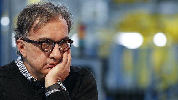 CEO Fiatu a Chrysleru Sergio Marchionne