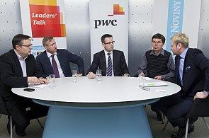Diskuse Leader's talk (PwC): Inovace a konkurenceschopnost