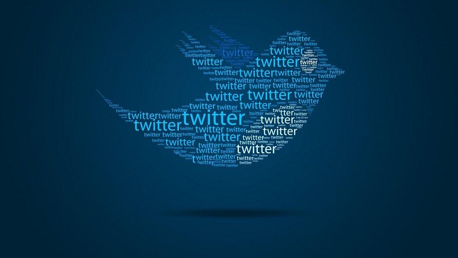 Ilustrace loga společnosti Twitter