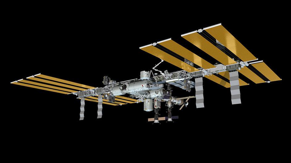 Vizualizace Mezinárodní vesmírné stanice ISS