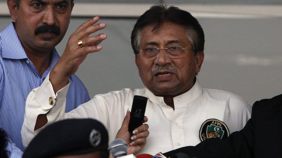Pákistánský exprezident Parvíz Mušaraf