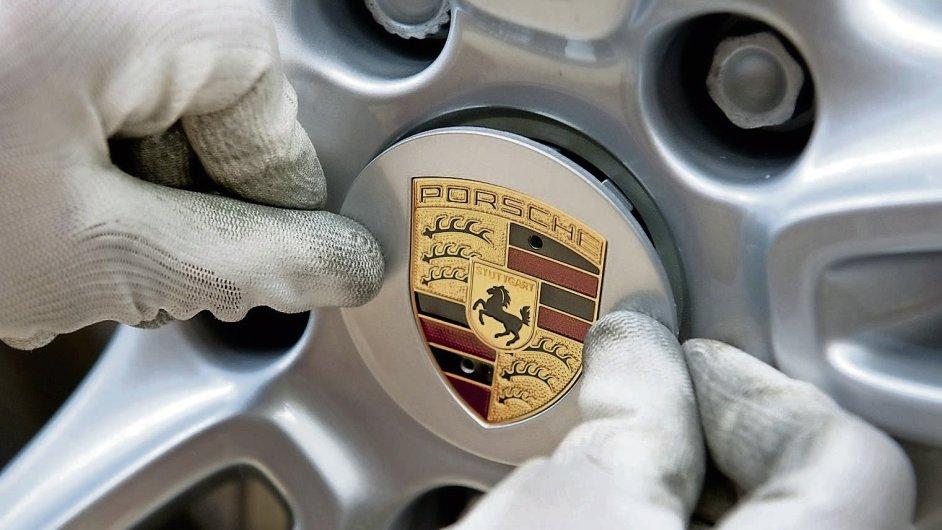 Značka Porsche je součástí koncernu Volkswagen