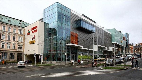 Obchodní centrum Plaza v Liberci