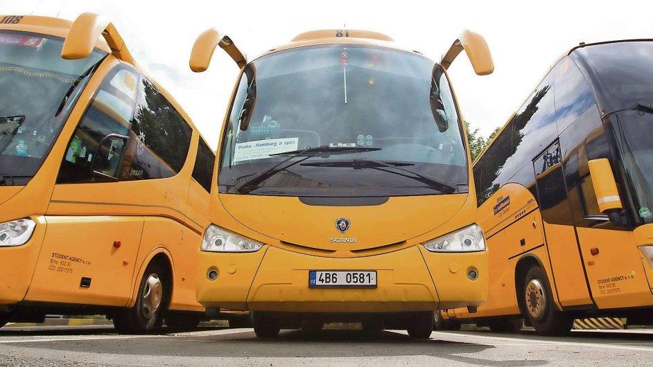 Student Agency, autobus