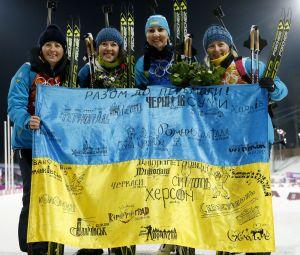Biatlonové olympijské vítězky z Ukrajiny