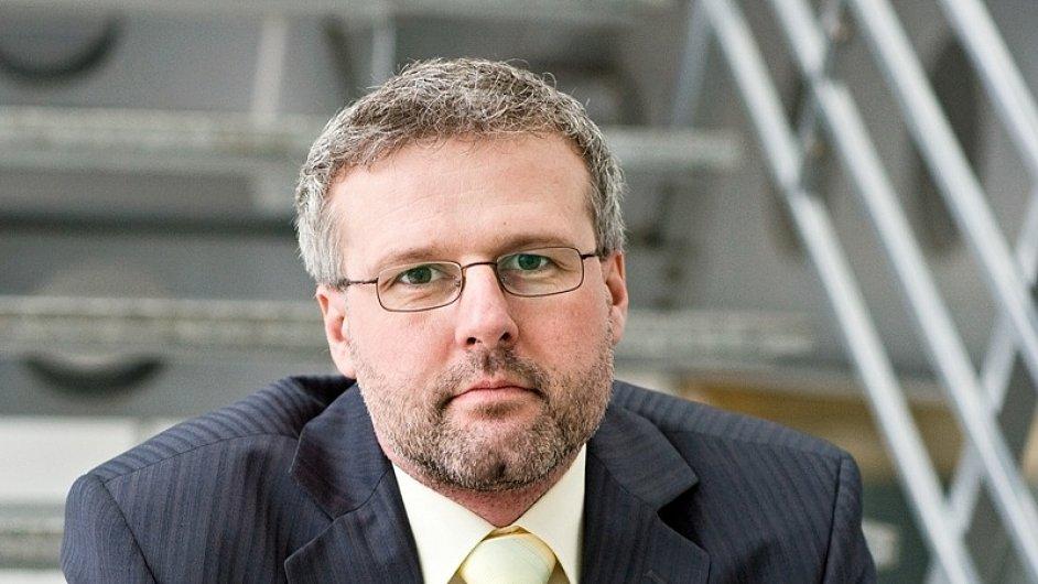 Ladislav Šticha, PR manažer a tiskový mluvčí společnosti Centropol