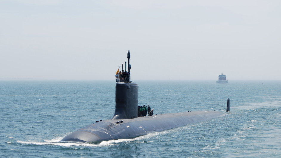 Americká ponorka třídy Virginia - ilustrační foto
