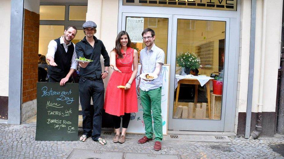 Restaurant Day v Berlíně