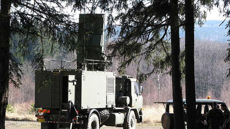 Nově radiolokátory chce české armáda získat pomocí výběrového řízení
