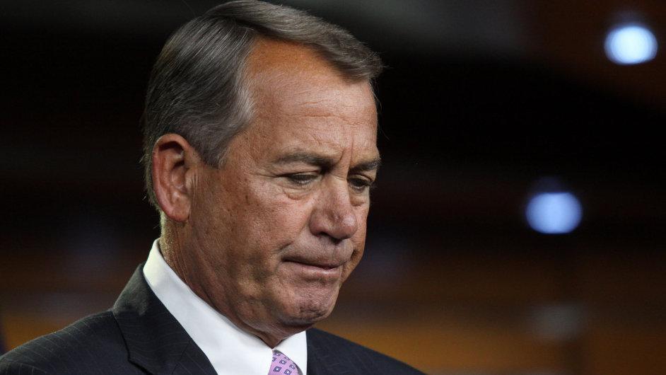 Předseda Sněmovny reprezentantů John Boehner