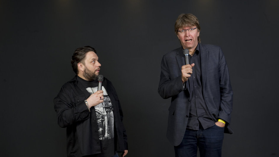 Luděk Staněk (vlevo) a Miloš Čermák