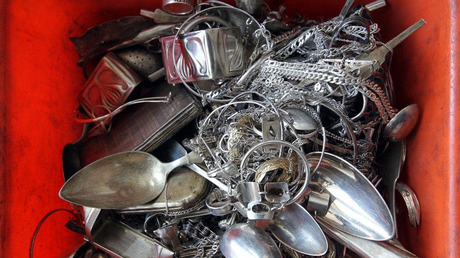 Safina , zpracování drahých kovů, stříbro