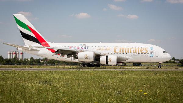 Do Prahy dorazilo největší dopravní letadlo světa