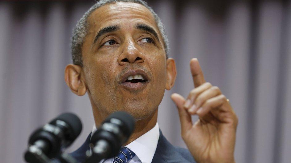 Prezident Barack Obama hovořil o nukleární dohodě s Íránem ve středu 5. srpna na Americké univerzitě ve Washingtonu.