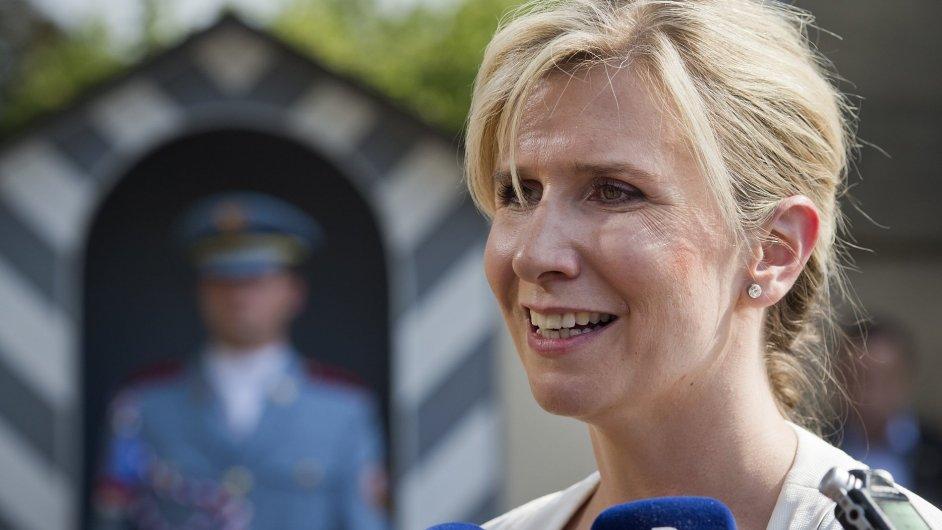 Ministryně školství Kateřina Valachová jednala s prezidentem o vysokoškolském zákonu i způsobu jmenování profesorů.