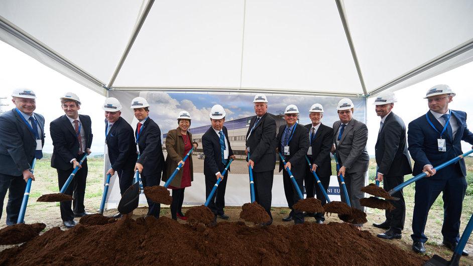 V chebské průmyslové zóně začala výstavba továrny pro BWI
