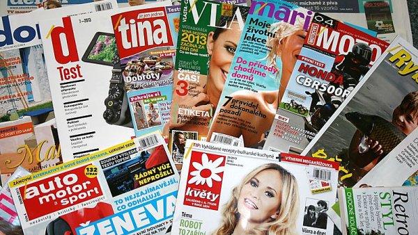 časopisy - ilustrační obrázek