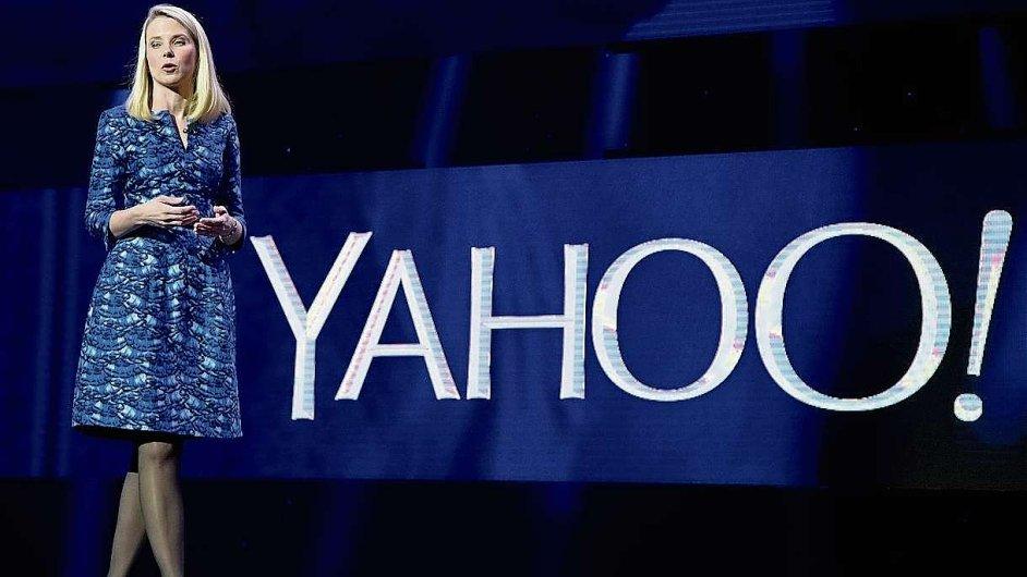 Šéfka Yahoo! Marrisa Mayerová se acqui-hiringu jako nástroje k posílení společnosti zastává.