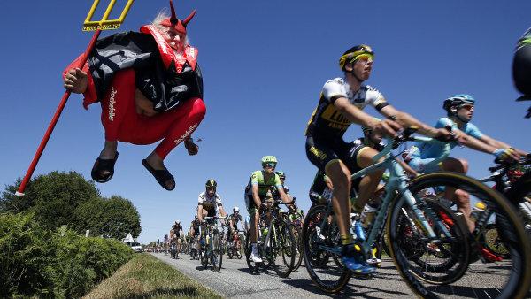 Tour de France - ilustra�n� foto