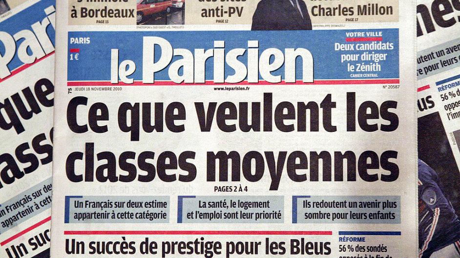 Le Parisien - Ilustrační foto.