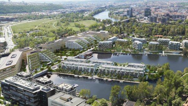 Do okolí pražské Palmovky investují developeři miliardy.
