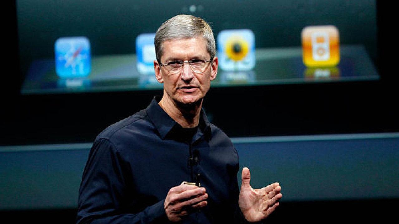 Tim Cook, šéf firmy Apple.