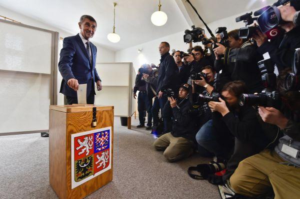 Andrej Babiš volil ANO.
