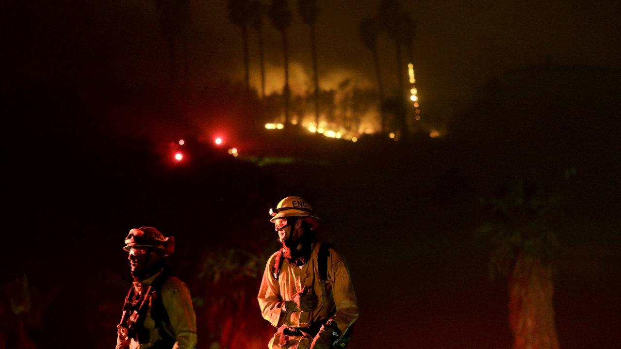 požár, Kalifornie