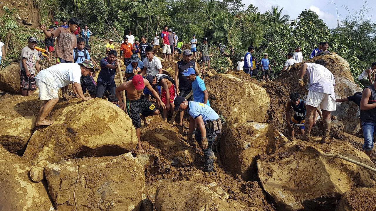 Filipíny, záplavy, tropická bouře