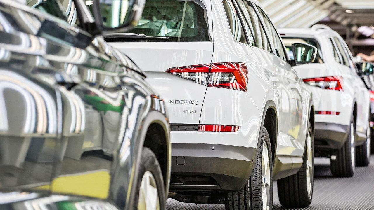 Poptávka po vozech Škoda Auto je ze strany kupců enormní.