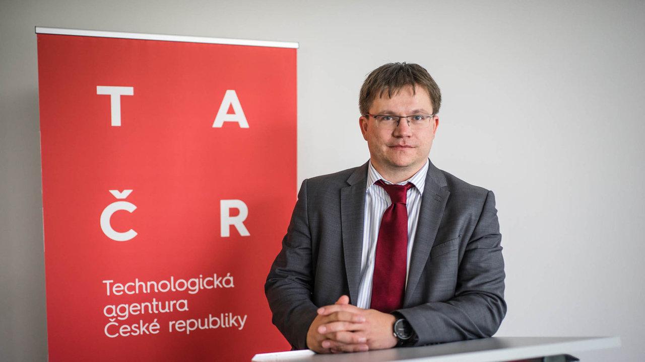 Petr Očko, předseda Technologické agentury ČR.