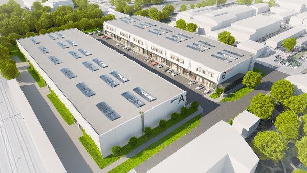 Kolem Průmyslové ulice v Praze vznikají nové industriální haly.