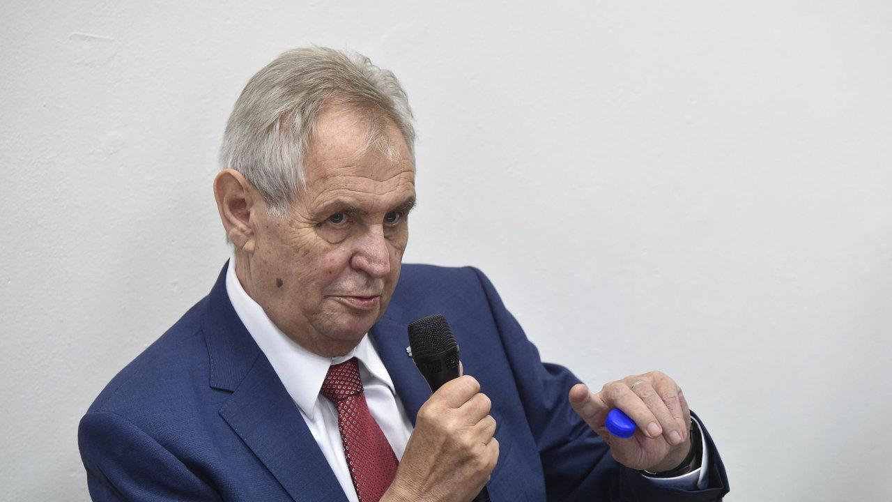 Zeman: Petříček má slušné kvalifikační předpoklady pro ministra