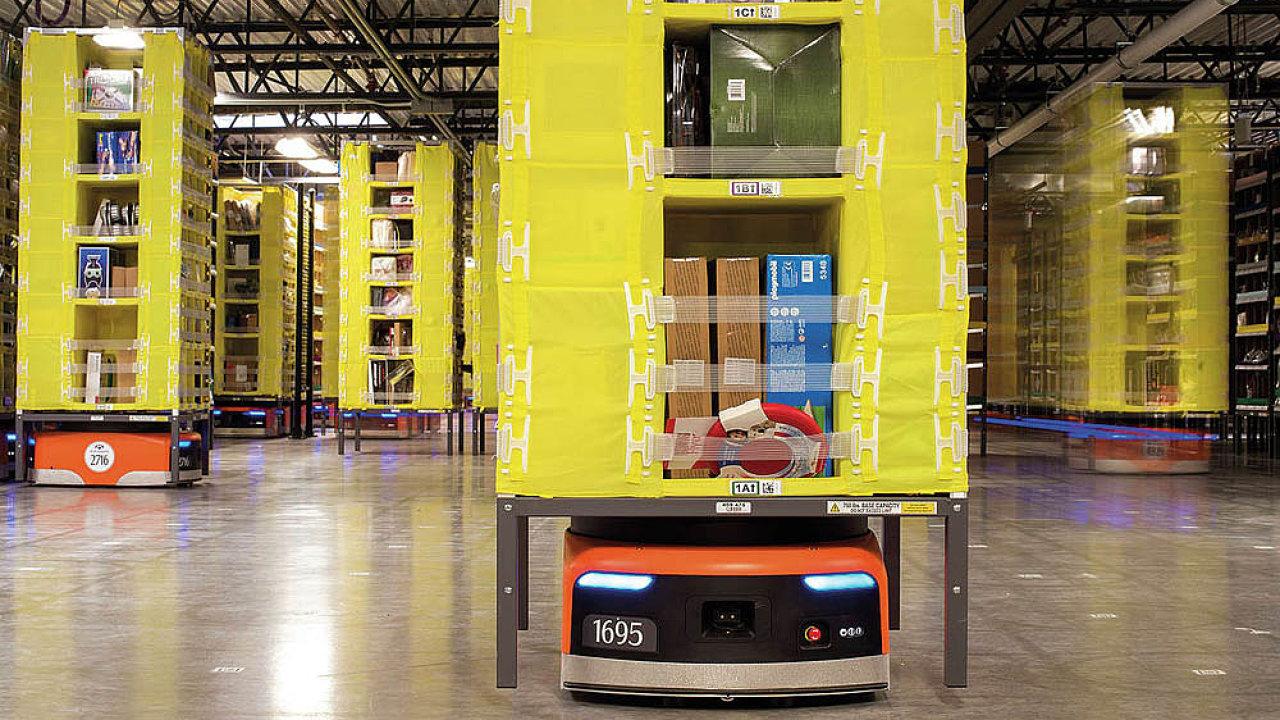 Nasazením robotů Kiva šetří Amazon až 20 procent svých nákladů. Ročně to znamená úsporu okolo 22 milionů dolarů za každý robotizovaný sklad.