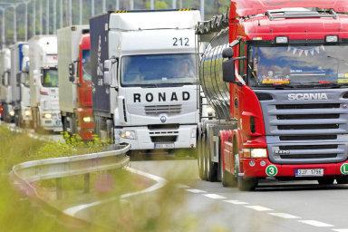 Kamiony - ilustrační foto
