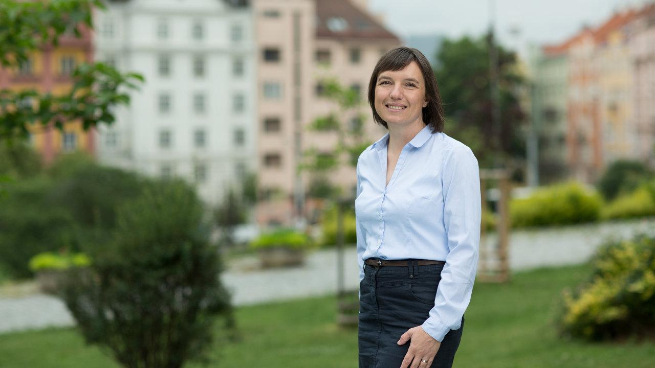 Lucie Sedmihradská.