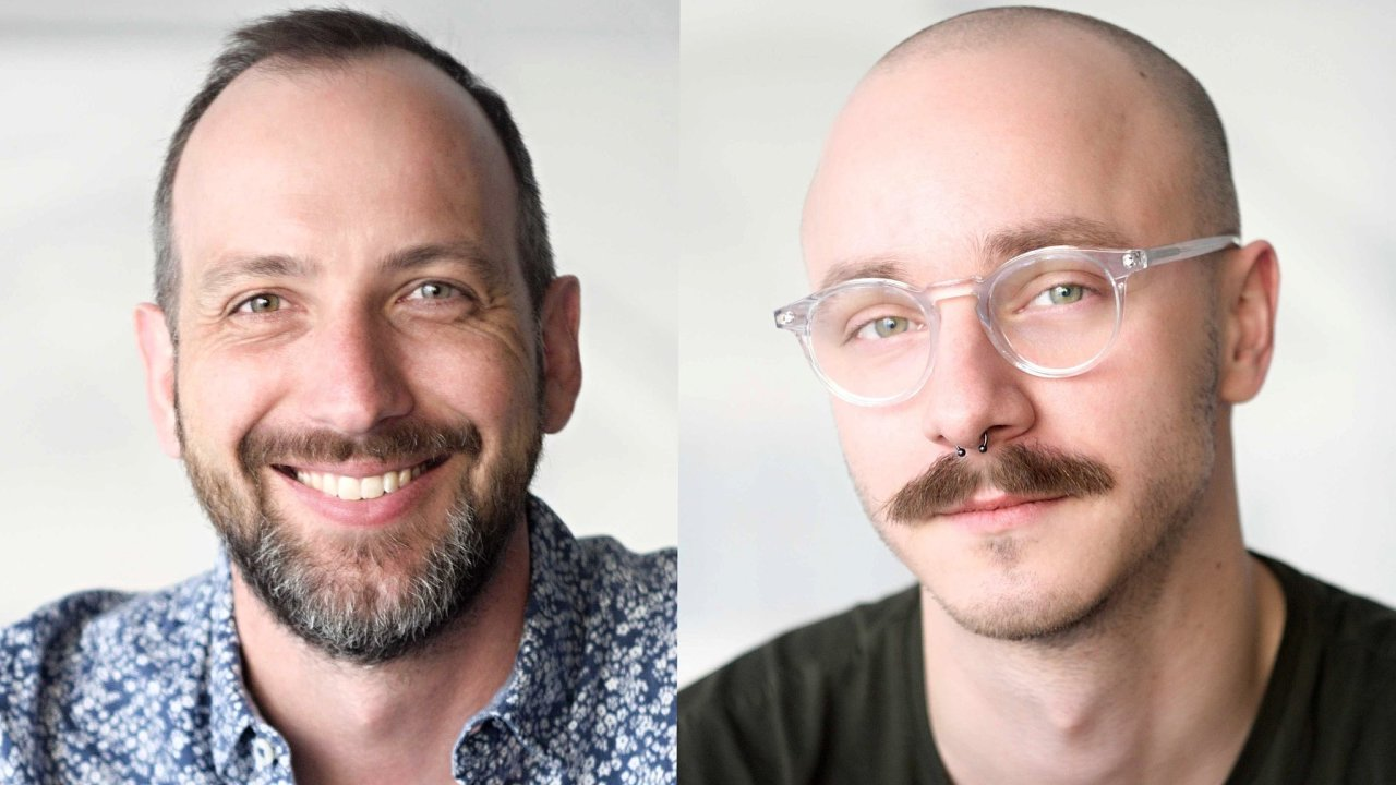 Brian Koslowski a Matej Lupták, management HoppyGo
